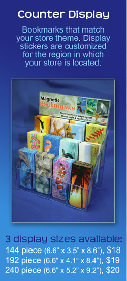 Truebite, Inc. Bookmark Displays